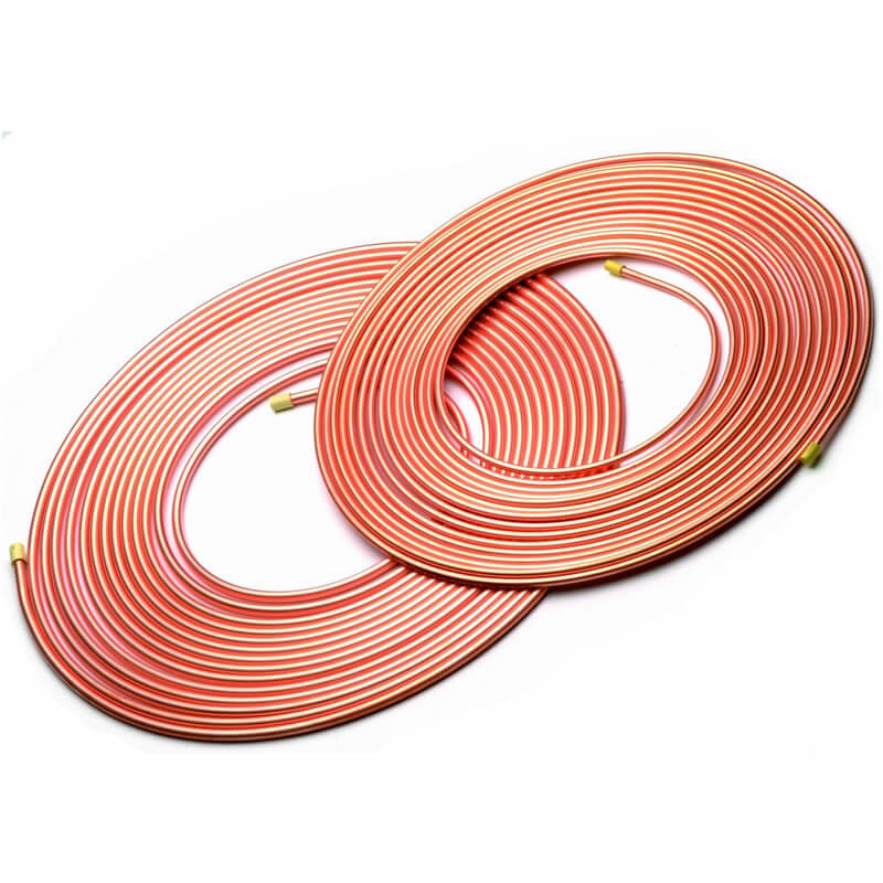 "3/8"" & 1 1/8"" Copper Refrigerant Line Set (50')"