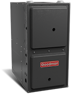 "Goodman 95% AFUE 120,000 BTU Single Stage Downflow/Horizontal Gas Furnace (24.5"" Wide)"
