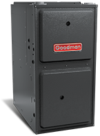 "Goodman 92% AFUE 40,000 BTU Single Stage Upflow/Horizontal Gas Furnace (14"" Wide)"