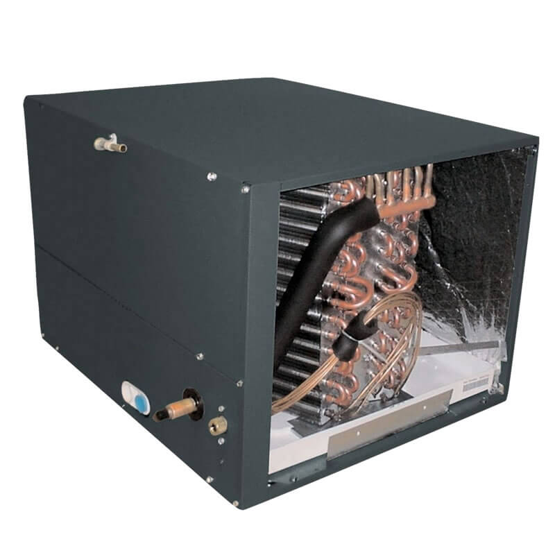 """2 and 2.5 Ton Goodman R410A Horizontal Cased Evaporator Coil (17.5"""" Tall)"""