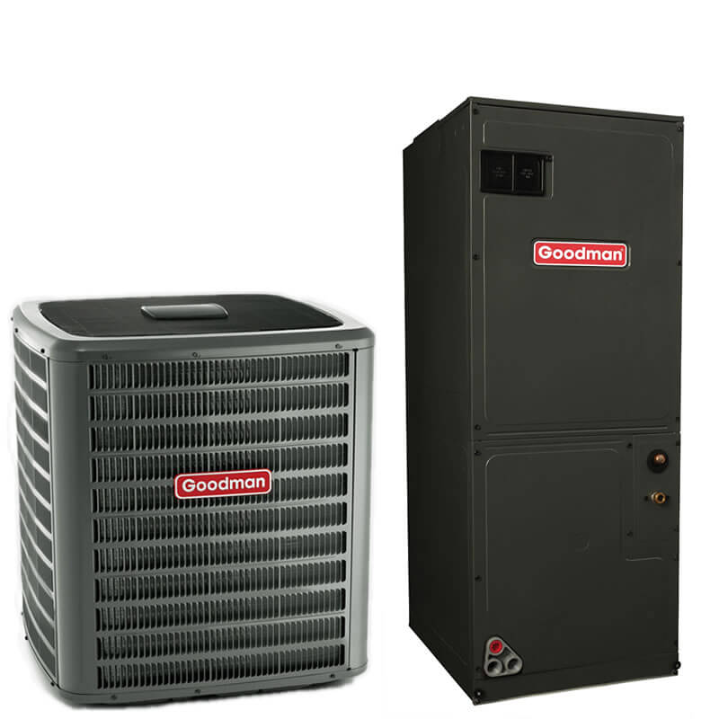 2.5 Ton Goodman 15 SEER R410A Air Conditioner Split System ...