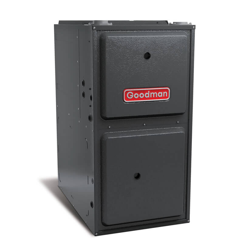 """Goodman 96% AFUE 120,000 BTU Two-Stage Variable Speed Upflow/Horizontal Gas Furnace (24.5"""" Wide)"""