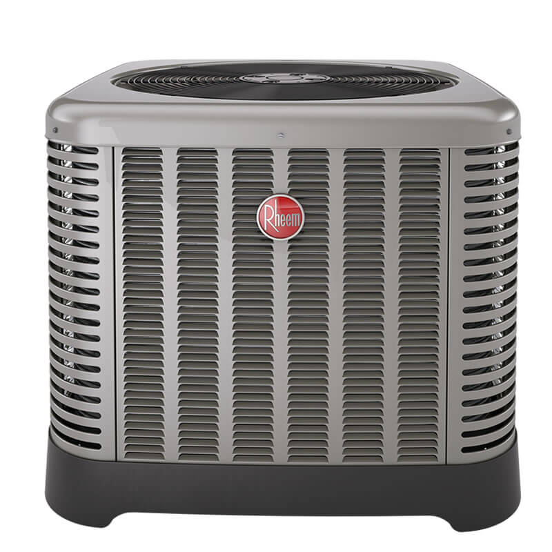 1.5 Ton Rheem 14 SEER R-410A Air Conditioner Condenser (Classic Series)