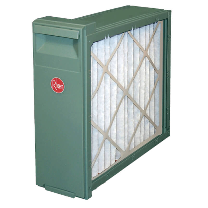 "Rheem Gas Furnace Media Air Filtration System: 24.5"" Wide Cabinet"