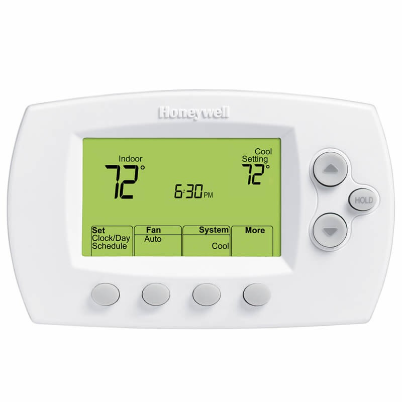 Honeywell Wi-Fi Focus Pro 6000 Programmable/Non-Programmable Thermostat (Heat Pump: 3 Heat/2 Cool - Conventional: 2 Heat/2 Cool)
