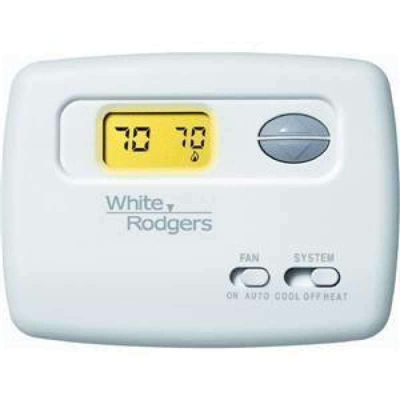 White Rodgers Non-Programmable Heat Pump Thermostat (2 Heat / 1 Cool)
