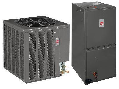 1.5 Ton Rheem 13 SEER R-410A Air Conditioner Split System (Value Series) (No Longer Available)