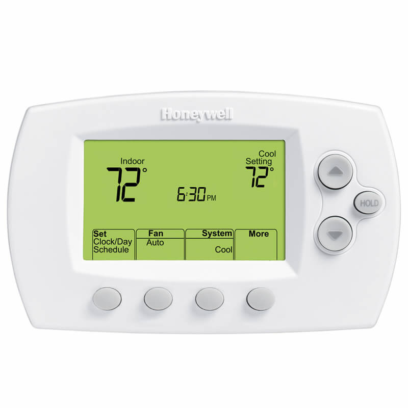 Honeywell Wi-Fi Focus Pro 6000 Programmable/Non-Programmable Thermostat (3 Heat / 2 Cool)
