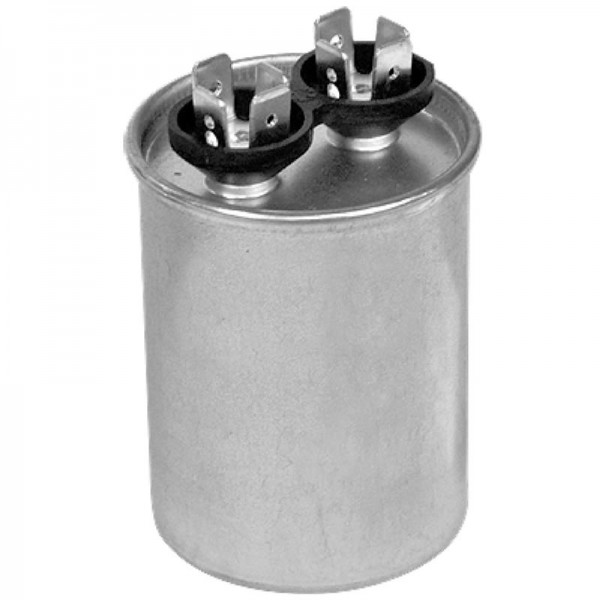 Air Conditioner Condenser >> 7.5 MFD 370 VAC (Single) Run Capacitor | National Air ...