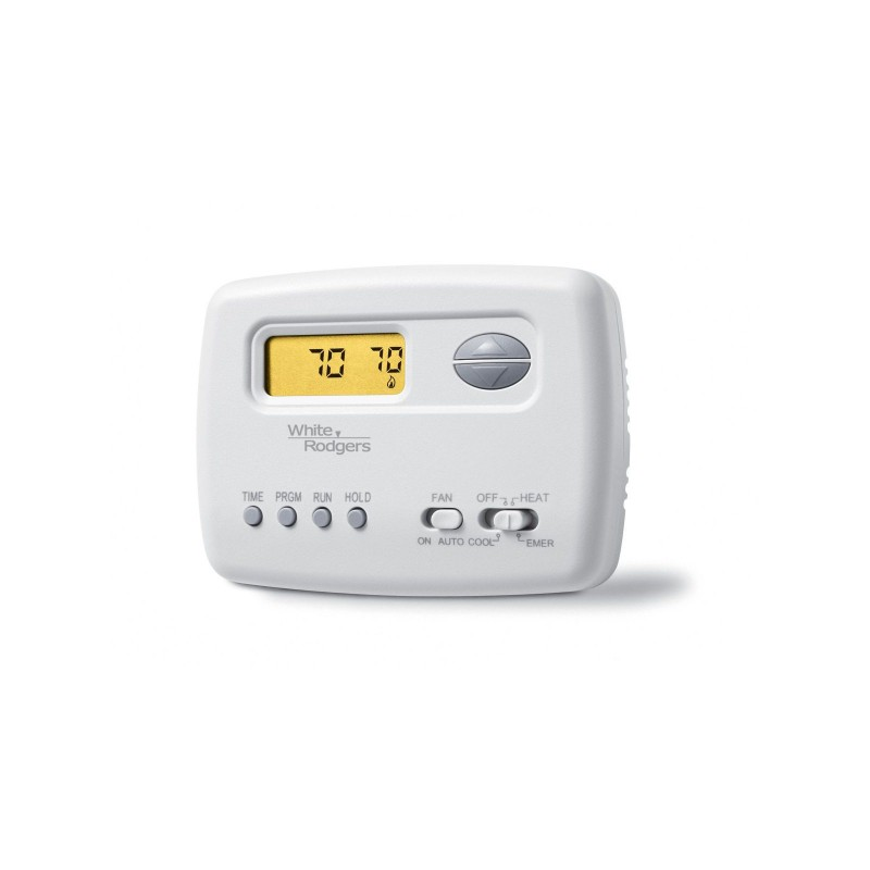 White Rodgers Programmable Heat Pump Thermostat  2 Heat