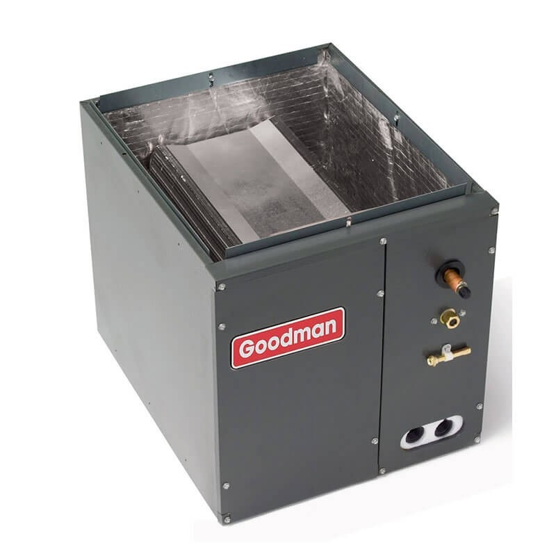 "1.5 and 2 Ton Goodman R-410A Vertical Cased Evaporator Coil (21""W)"