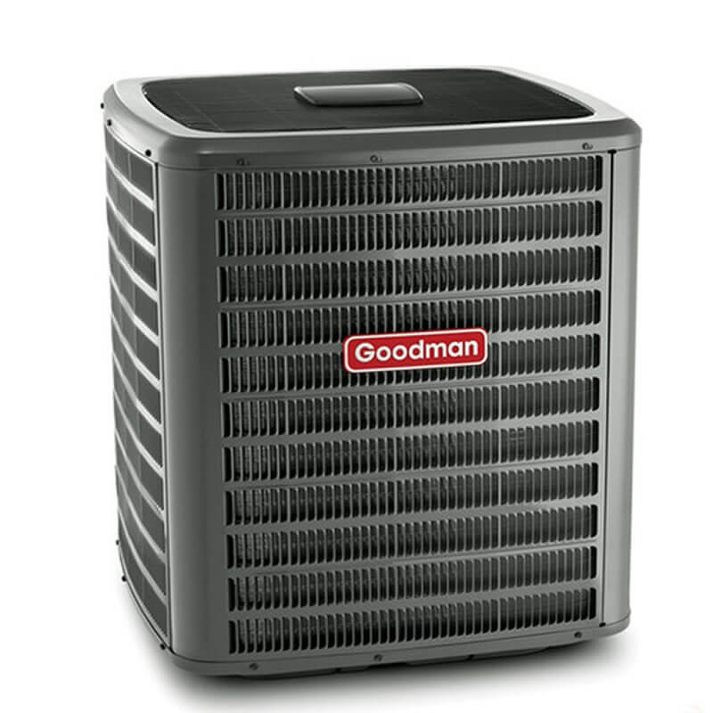 5 Ton Goodman 16 SEER R410A Two-Stage Air Conditioner Condenser