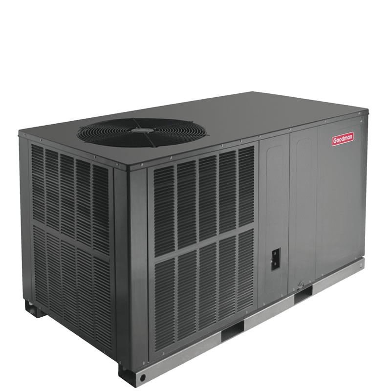 Air Conditioner Package Unit Section : Ton goodman seer r a air conditioner packaged