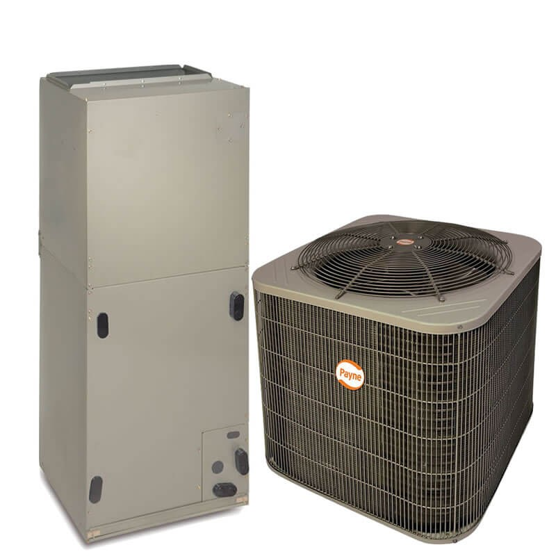 2 5 Ton Payne By Carrier 14 Seer R410a Heat Pump Split System National Air Warehouse