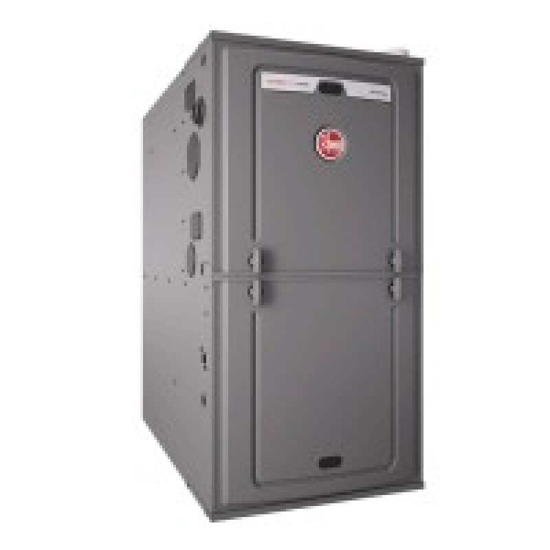 """Rheem 96% AFUE 56,000 BTU Two-Stage Multi-Position Gas Furnace (Classic Series) - 17.5"""" Wide"""