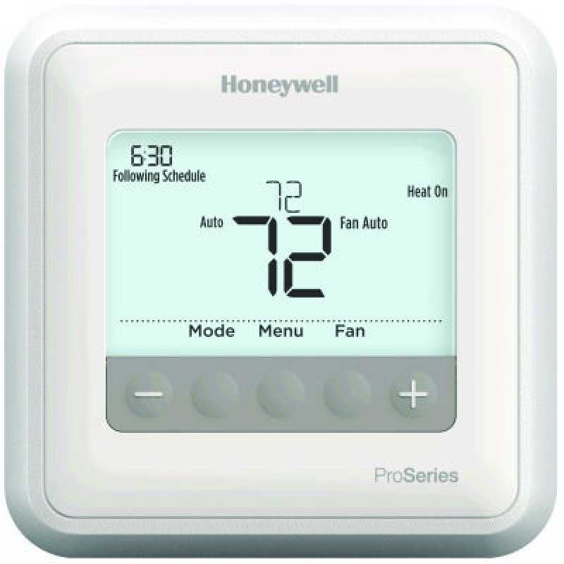 Th4110u2005 Honeywell T4 Pro Programmable Thermostat Manual Guide
