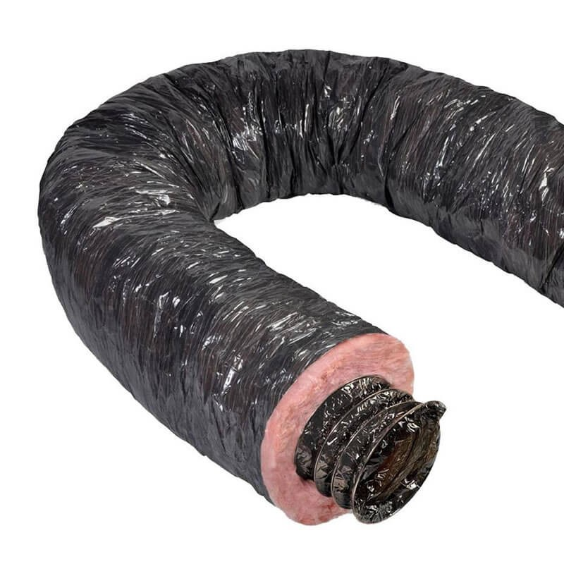 12 Inch Insulated Flexible Mobile Home Duct R4