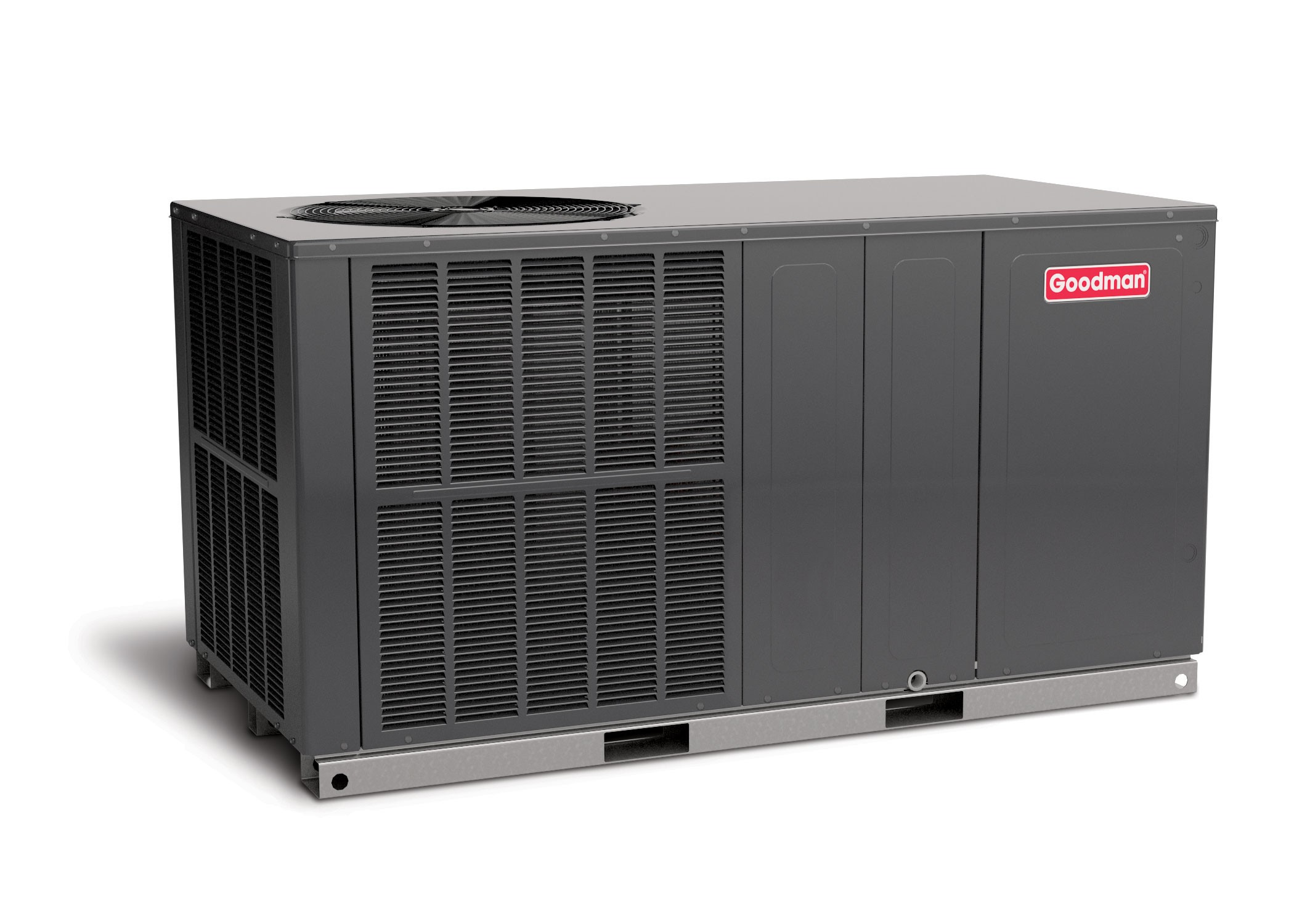 3 Ton Air Conditioning : Ton goodman seer r a air conditioner package unit