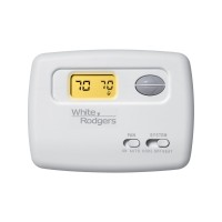 White Rodgers Single Stage Non-Programmable Thermostat (1 Heat / 1 Cool)