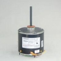 Universal Condenser Fan Motor: 1/6 - 1/3 Horsepower, 1075 RPM, 208 - 230 Volts