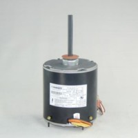 Universal Condenser Fan Motor: 1/5 - 1/2 Horsepower, 1075 RPM, 208-230 Volts