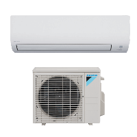 12,000 BTU Daikin 17 SEER Heat Pump Ductless Mini-Split System