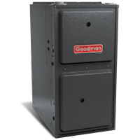 "Goodman 92% AFUE 80,000 BTU Upflow/Horizontal Single Stage Gas Furnace (GMSS92 Series) - 17.5"" Wide"