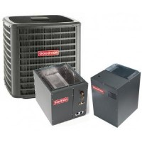 5 Ton Goodman 16 SEER R410A Two-Stage Variable Speed Upflow Heat Pump Split System
