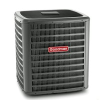 2 Ton Goodman 16 SEER R-410A Two-Stage Air Conditioner Condenser