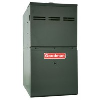 "Goodman 80% AFUE 80,000 BTU Single Stage Upflow/Horizontal Gas Furnace (17.5"" Wide)"