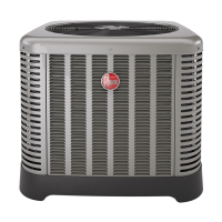 4 Ton Rheem 16 SEER R410A Two-Stage Heat Pump Condenser (Classic Series)