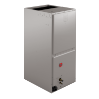 "4 Ton Rheem R410A Multi-Position High Efficiency Air Handler (21"" Wide)"