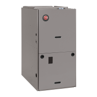 Rheem 80% AFUE 75,000 BTU Two-Stage Variable Speed Downflow Gas Furnace (Prestige Series)