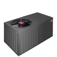 5 Ton Rheem 15 SEER R-410A Two-Stage Heat Pump Packaged Unit