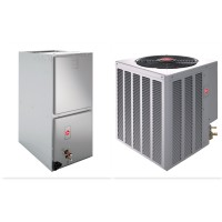 2 Ton Rheem Select 14 SEER R410A Heat Pump Split System