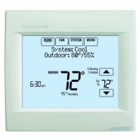 Honeywell Vision Pro 8000 Programmable/Non-Programmable Touchscreen Thermostat (Heat Pump: 3 Heat/2 Cool - Conventional: 2 Heat/2 Cool)
