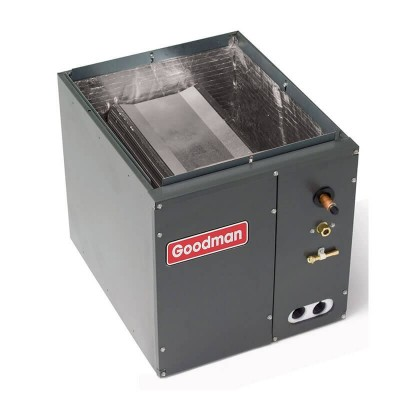 "3 and 3.5 Ton Goodman R-410A Vertical Cased Evaporator Coil (21""W)"