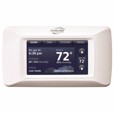Goodman ComfortNet™ Communicating Touchscreen Programmable Thermostat Control System