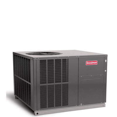3 Ton Goodman 14 SEER R410A 81% AFUE 80,000 BTU Gas/Electric Packaged Unit