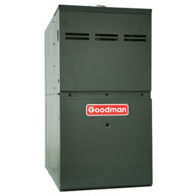 Goodman 80% AFUE 100,000 BTU Upflow/Horizontal Gas Furnace (GMS8 Series)