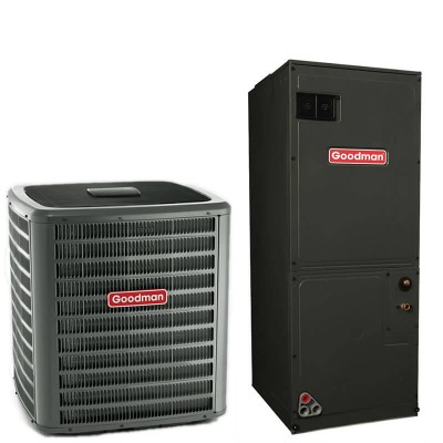 1.5 Ton Goodman 15 SEER R410A Variable Speed Heat Pump Split System