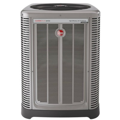2 Ton Rheem 17 SEER R410A Two-Stage Air Conditioner Condenser (Classic Series)