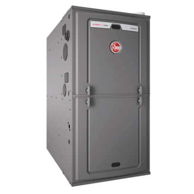 "Rheem 92% AFUE 98,000 BTU Single Stage Multi-Position Gas Furnace (Classic Series) - 21"" Wide"