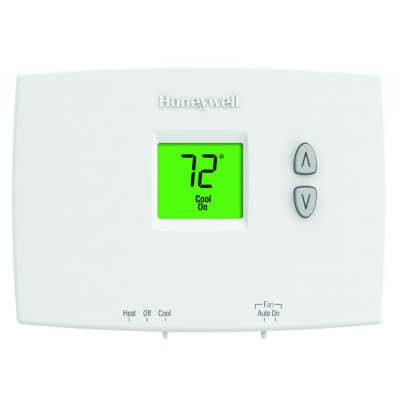 Honeywell Pro 1000 Non-Programmable Single Stage Thermostat (1 Heat/1 Cool)