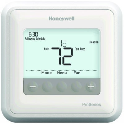 Honeywell T4 Pro Programmable/Non-Programmable Single Stage Thermostat (1 Heat/1 Cool)