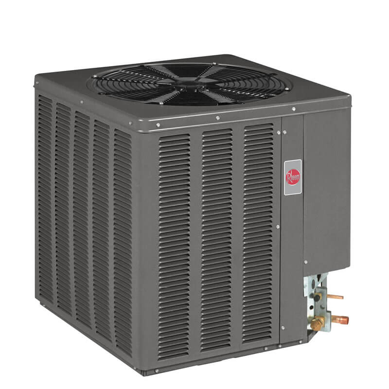 5 Ton Rheem/Ruud 13 SEER R-22 Air Conditioner Condenser (Dry Charge)